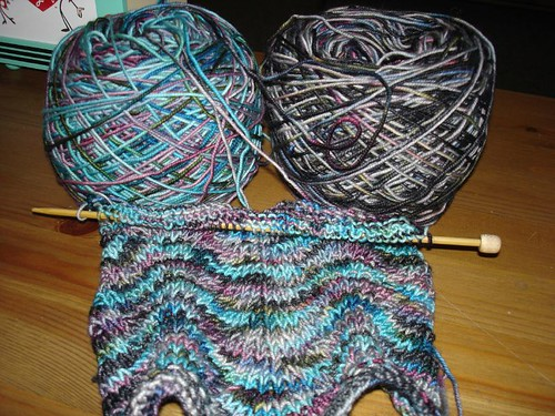 beginning chevron scarf