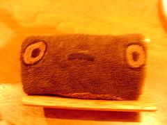 三鷹の森ジブリ美術館 カフェ麦わらぼうし トトロのおてふき
