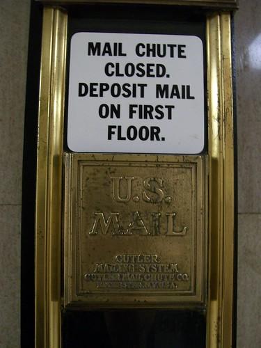 Nix mail chute