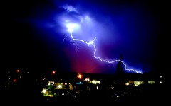 Lightening (Mommyof4Ruggies) Tags: homes summer sky storm news hot west home nature beauty weather proud night clouds wonderful dark spectacular lights cool scary nikon superb action outdoor tripod dramatic first 321 crop pacificnorthwest cropped aug lightening dramaticsky mothernature lightningbolt exciting desertview 2007 richland tricities perfecttiming dramaticskies westrichland d40 123nature mybestwork 123sky weatherphotography mywinner abigfave gorgreous dramaticnature platinumphoto nikond40 anawesomeshot mommyof4ruggies flickrchallengewinner robertaschonborg aug302007 august312007 firstlighteningshots