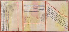 Sewn Triptych