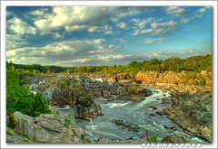Great Falls / Potomac River (Nikographer [Jon]) Tags: sunset usa nature landscape virginia landscapes lenstagged nationalpark md nikon unitedstates greatfalls maryland september va sep d200 tamron potomacriver hdr 2007 photomatix greatfallsnationalpark tonemapped tamron18200mmf3563 woooowwww nikographer preservetnc07 5shothdr 20070919d2001001768 ihavetamron18200mmtoo jss20081 4wrmc