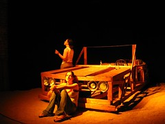 """Losing Time"" (evad 33) Tags: car theater theatre stlouis plays setdesign tinceiling stagedesign woodencar losingtime stlouistheater"