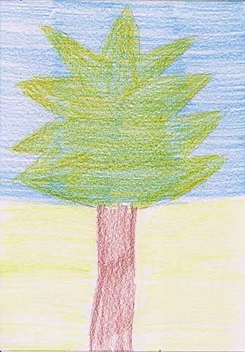 Silhouette tree 2
