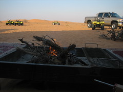Local made fireplace (Fahad.m) Tags: camping camp sahara car bike truck fire fireplace poem desert offroad 4x4 extreme quad safari saudi arabia atv suzuki firewood gmc quadbike            summan
