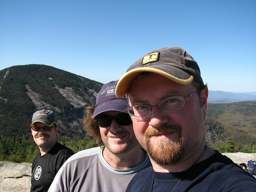 The trio on Rocky Peak
