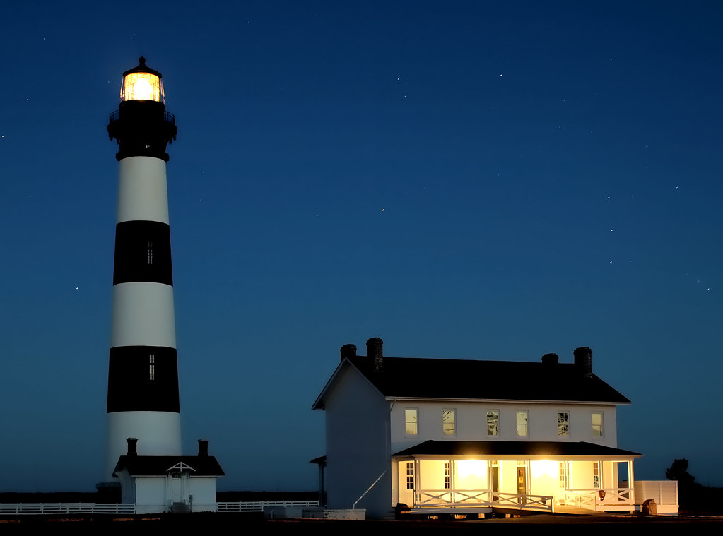 Bodie Lighthouse  (Night Shot)
