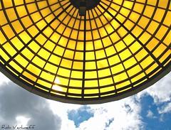 Lookin' up.... (Rob Verhoeff) Tags: bridge station geotagged olympus zoetermeer brug rokkeveen e500 zd 1445mm explored driemanspolder nelsonmandelabrug geo:lat=5204675 geo:lon=4476623
