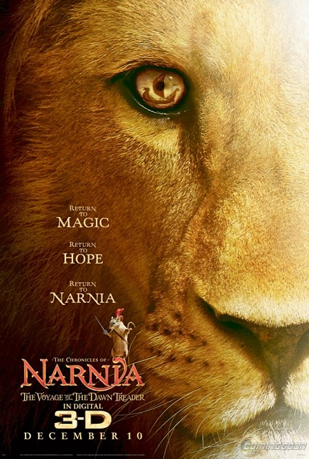Thumb First poster for The Chronicles of Narnia: The Voyage of the Dawn Treader