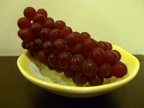 Little Japanese Delaware Grapes