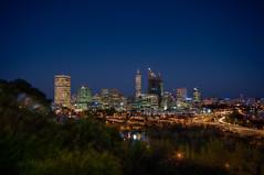 Perth city (miffage) Tags: city longexposure sky night cityscape wide sigma australia wideangle perth nightscene hdr sigma1020mm
