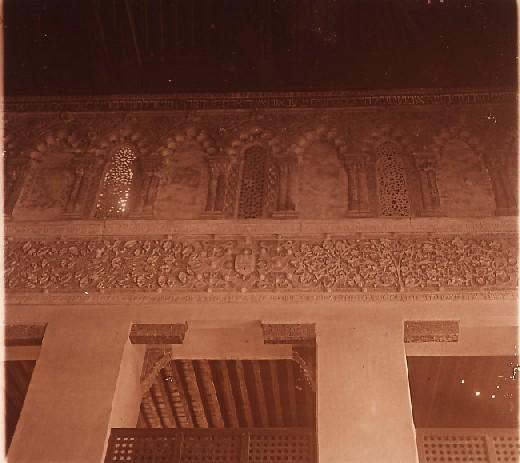 Sinagoga del Tránsito en los años 20. Fotografía de Ángel del Campo Cerdán