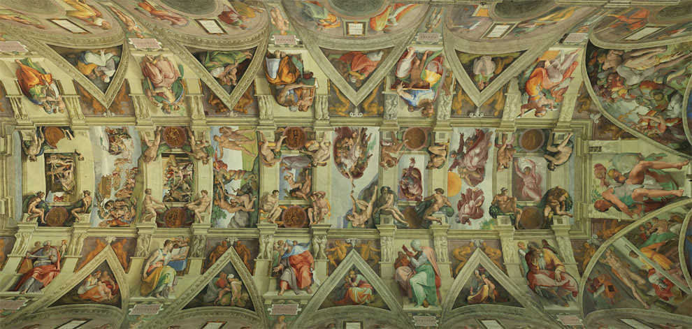 Sistine Chapel   Incredible Christian art walk through [29 Pics]