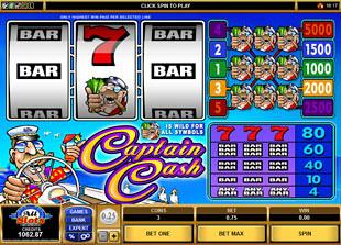 Captain Cash slot game online review
