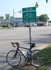 Begin Bike Route