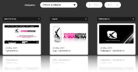 galeria flash xml: