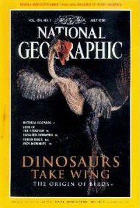 natgeo cover caudipteryx