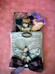 The Fairy Opera! (Lisa Kettell) Tags: vintage beads opera sewing pixie fairy faerie pockets alteredart fairyart lisakettell