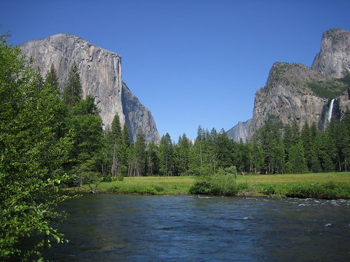 Yosemite Valley floor, June 29, 2005