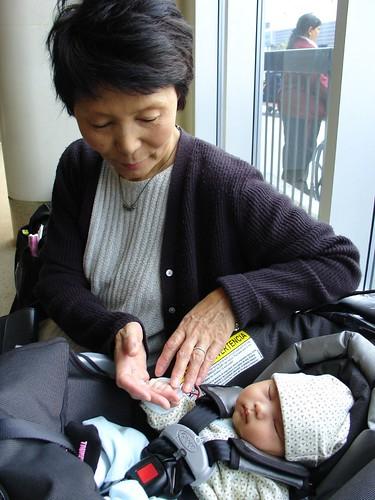 Grandma Saita's First Visit
