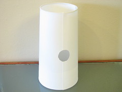 lampshade - with hole