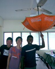 Umbrella prank