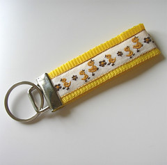 Yellow Birds Key Fob