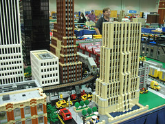 MichLTC LEGO City at NMRA 2007 National Train Show, Detroit, Michigan (DecoJim) Tags: building skyscraper model lego michigan bricks detroit plastic michlug trainshow legocity legometropolis michltc legotrainclub nationaltrainshow nmrants2007 nmra2007 legomodelbuildings artdecolegobuilding legomichigan
