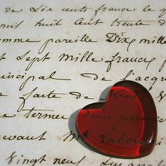 Love letters straight from your heart  (cattycamehome) Tags: red summer music macro love glass sunshine tag3 taggedout sepia writing handwriting hearts words lyrics bravo tag2 tag1 heart song antique letters romance sing letter aged lovelovelove    elvispresley loveletters loveisallyouneed catherineingram xoxoxox  xoxoxoxox allrightsreserved gtaggroup abigfave august2007 xxxxxxxxxxxxxx cattycamehome diamondclassphotographer soulsresonance youarethecutest singalongacatty  victoryoungandedwardheyman  ivebeensingingthisallnightx kiki
