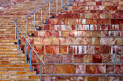 a0423 Stone Steps at Federation Square (tengtan (away awhile)) Tags: stone big steps australia federationsquare melbourne colourful marble momma alabaster bigmomma anawesomeshot aplusphoto auselite thechallengegame challengegamewinner