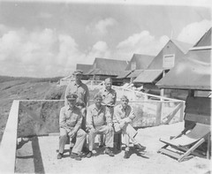 Top Ranking Medical Officers - Saipan (afigallo) Tags: usmc hospital war pacific wwii ww2 marines saipan
