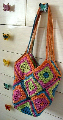 Granny Square Bag Pattern Free : Monday Night Crochet-Alongs Begin July 28th Design Your Own Custom ...