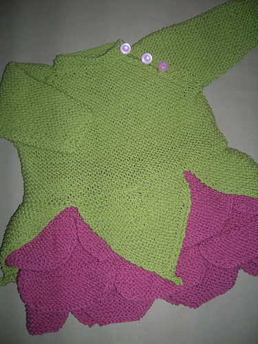 Gywneth's Garter Stitch Fairy: Rose Dress