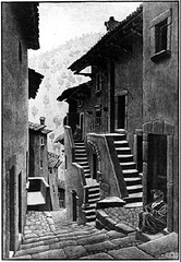 Escher - Street in Scanno 1930