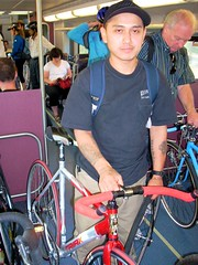 Carlos and his fixed Triax
