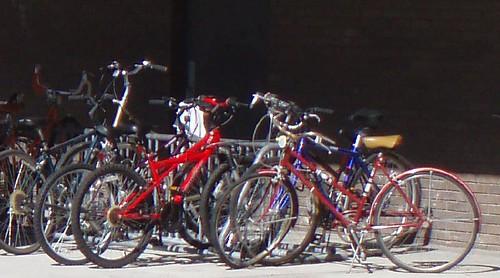 UWM bike rack
