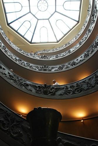 Leaving the Vatican Museum