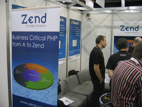 Zend Booth at FOWA