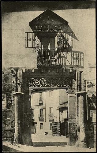 Corral de Don Diego (Toledo). Heliotipia Artística Española, 1927