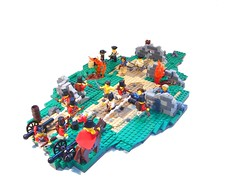 Battle for Concord (NewRight) Tags: war lego battle historical revolutionary diorama