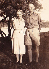 Grandma & Grandpa Manly 1942