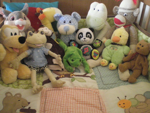 So many stuffed animals