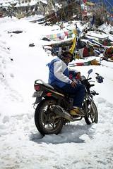 As always, I love posing with my babe, all the times. (MB ~FreeBirD~) Tags: 2004 ultimate traveller adventure biker challenge ladakh himachalpradesh freebird manibabbar maniya