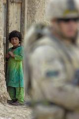 focus on me (**Dan**) Tags: afghanistan kids nikon dof military explore kandahar savethechildren canadianmilitary mywinners abigfave nikond2hs goldenphotographer diamondclassphotographer flickrdiamond militaryphotographer colourartaward artlegacy nikon80400lens