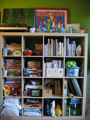 nu craft shelf by bokeh burger, on Flickr