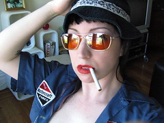 IMG_0771 (violet.blue) Tags: selfportrait ace 45 teh hotness underwood violetblue smithandwesson happybdayhuntersthompson