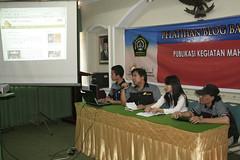 Seminar dan Pelatihan Blog Loenpia di Unissula