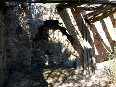 Visite des ruines du hameau de Candela