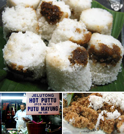 Penang's Hot Puttu