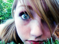 Eyesss:] (mryummy_indahood) Tags: green grass outdoors eyes mint